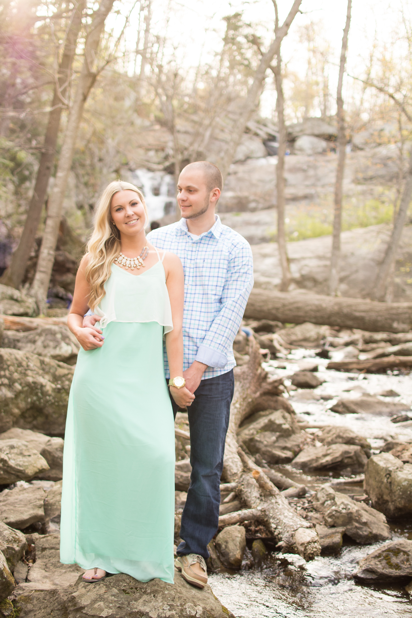 cunningham falls engagement session photo couple