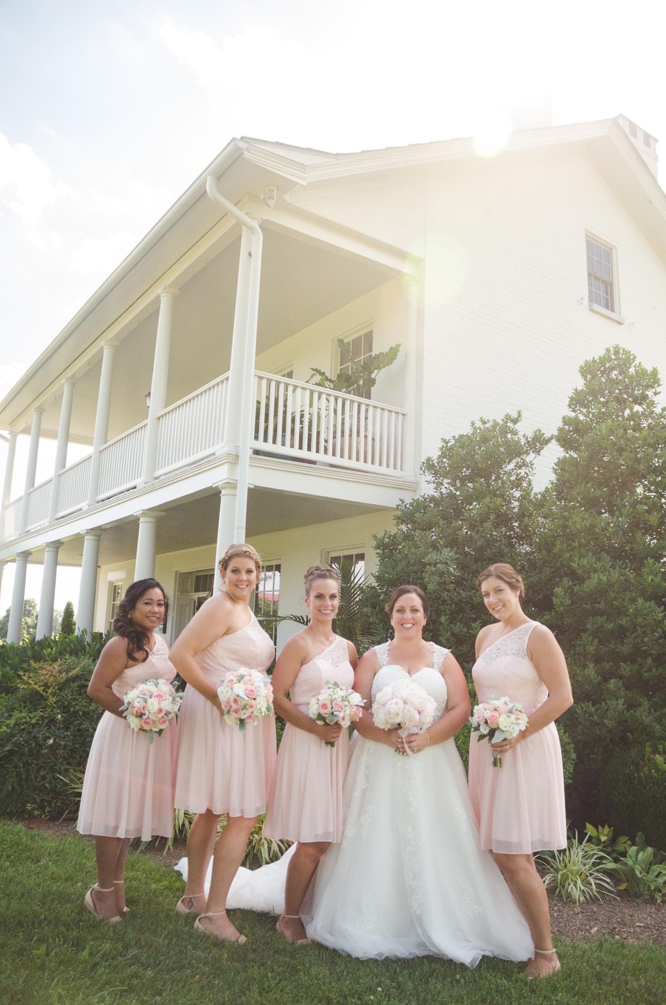 bridesmaids portraits glen ellen farm