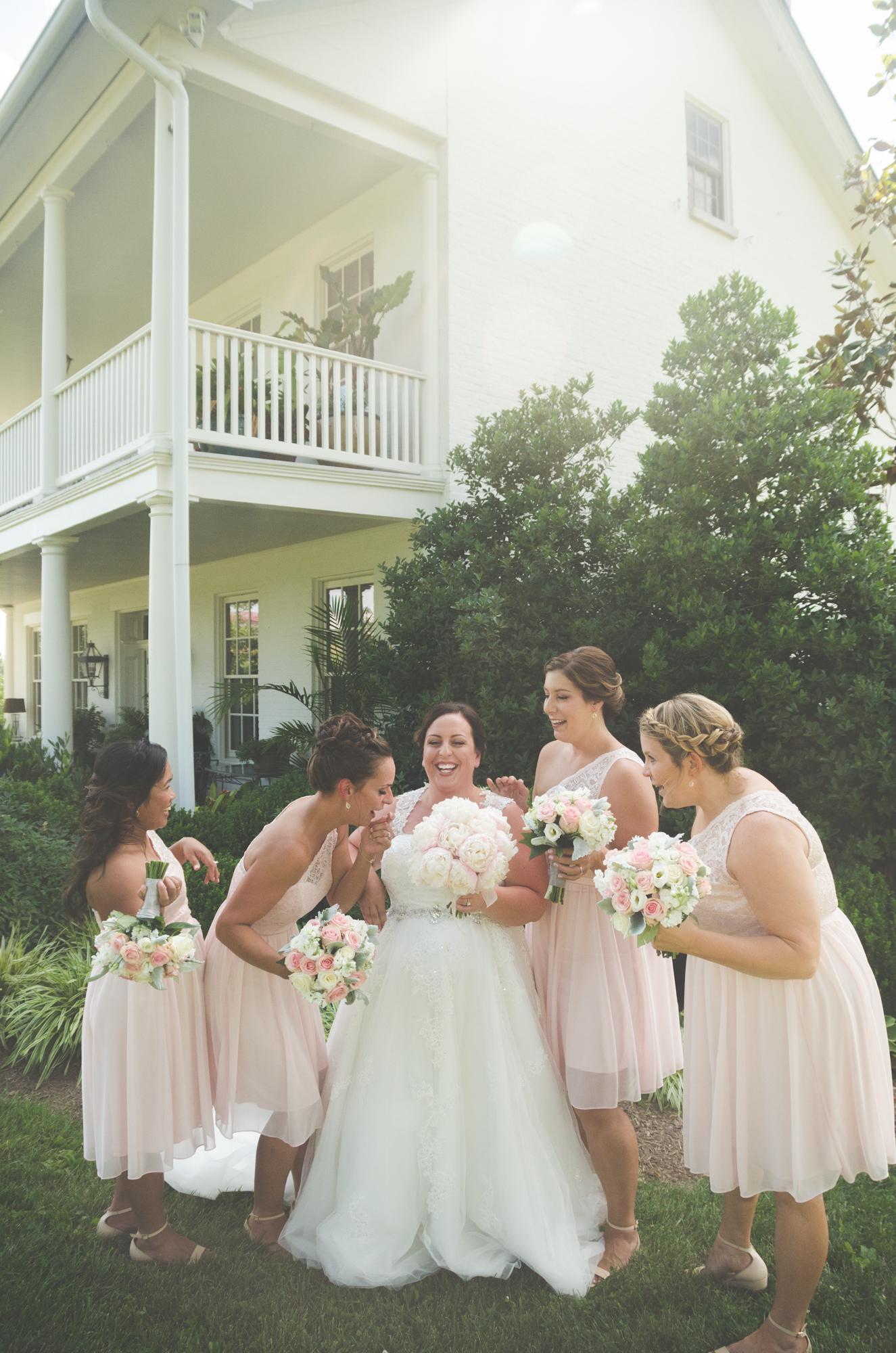 bridesmaids portrait glen ellen farm