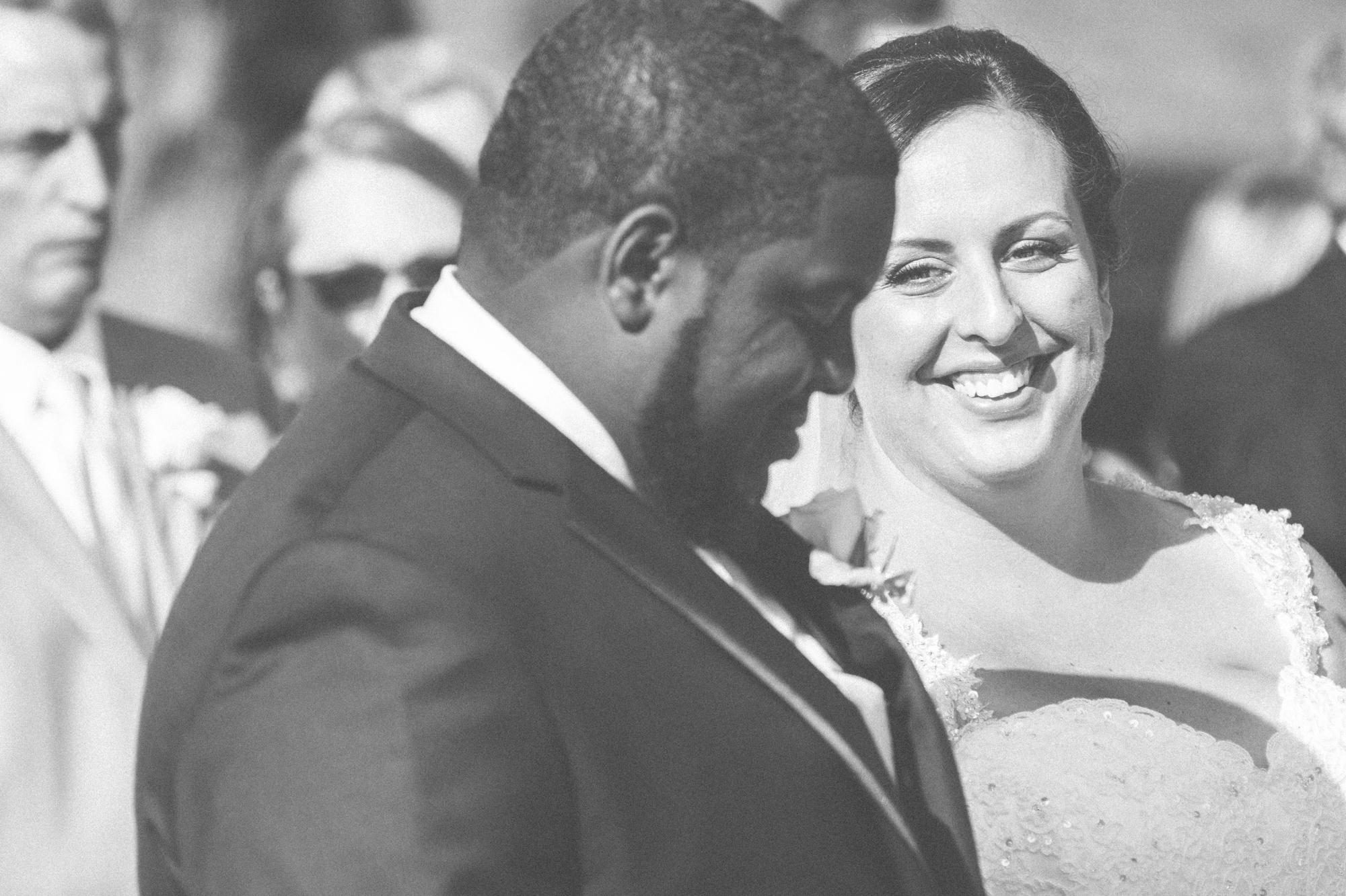 bride and groom at alter glen ellen farm