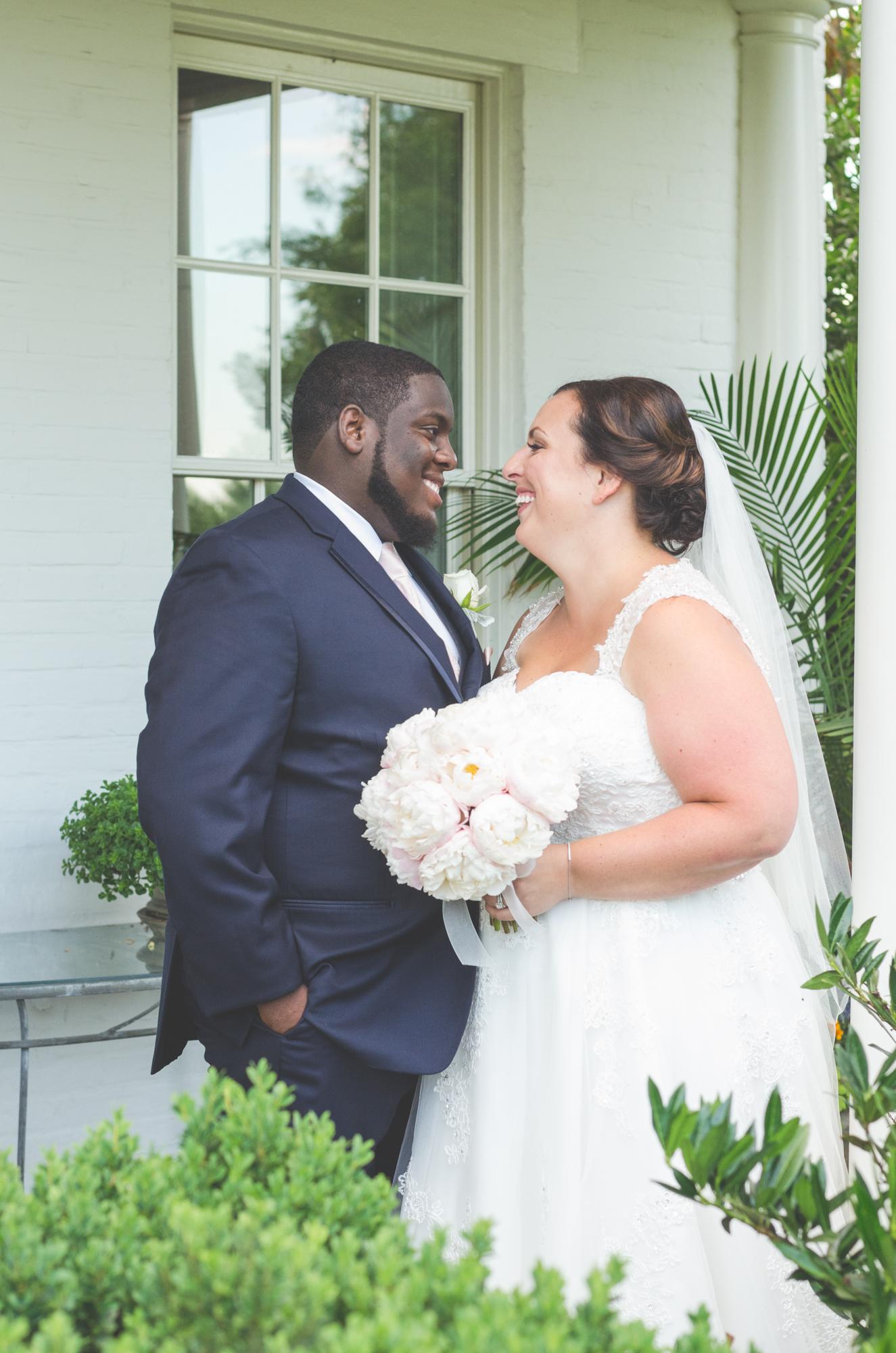 bride and groom portrait glen ellen farm