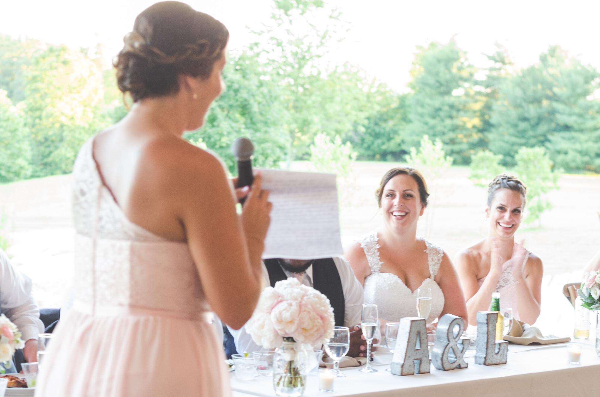 bridesmaids toast glen ellen farm