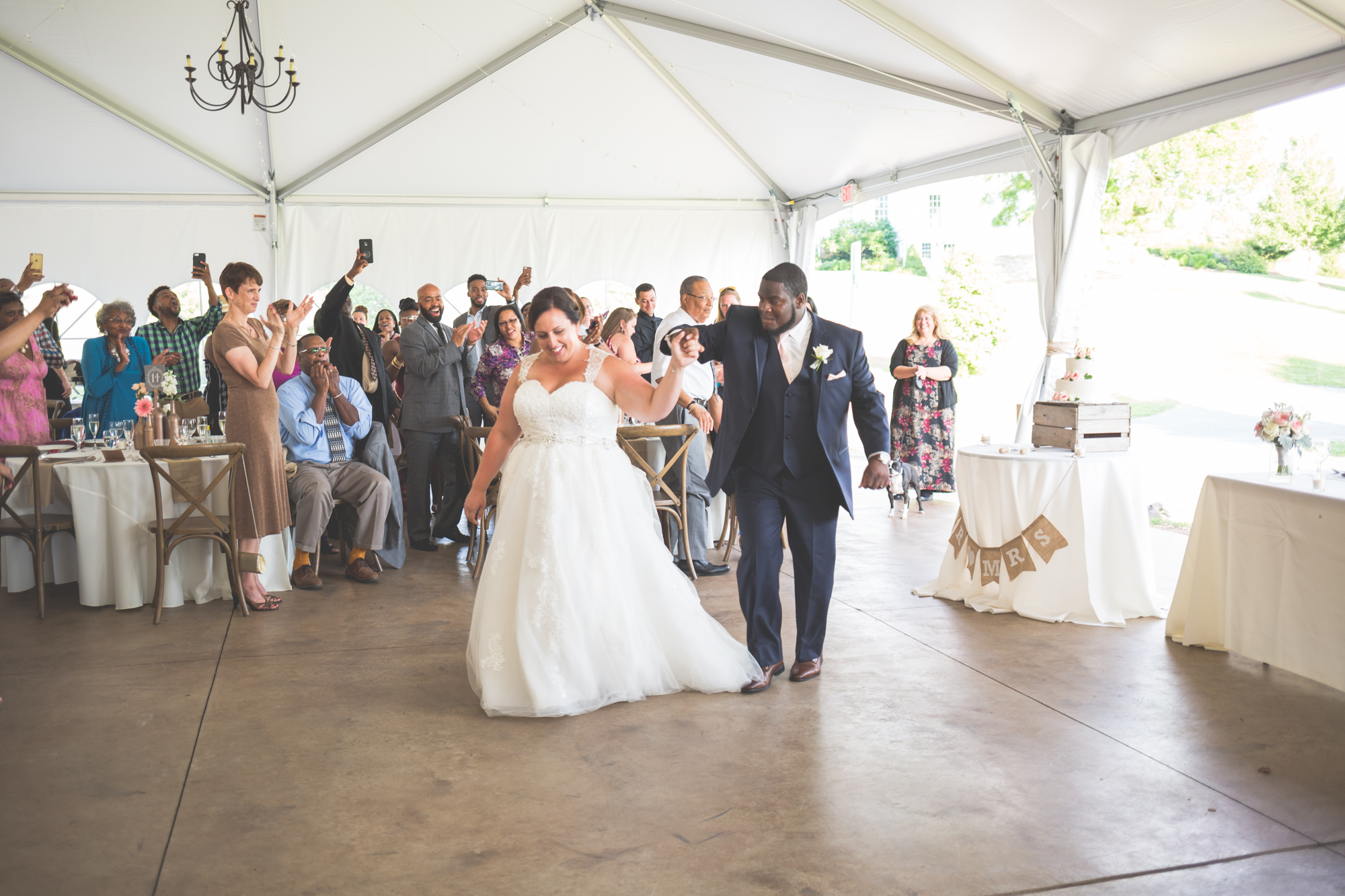 bride and groom first dance glen ellen farm
