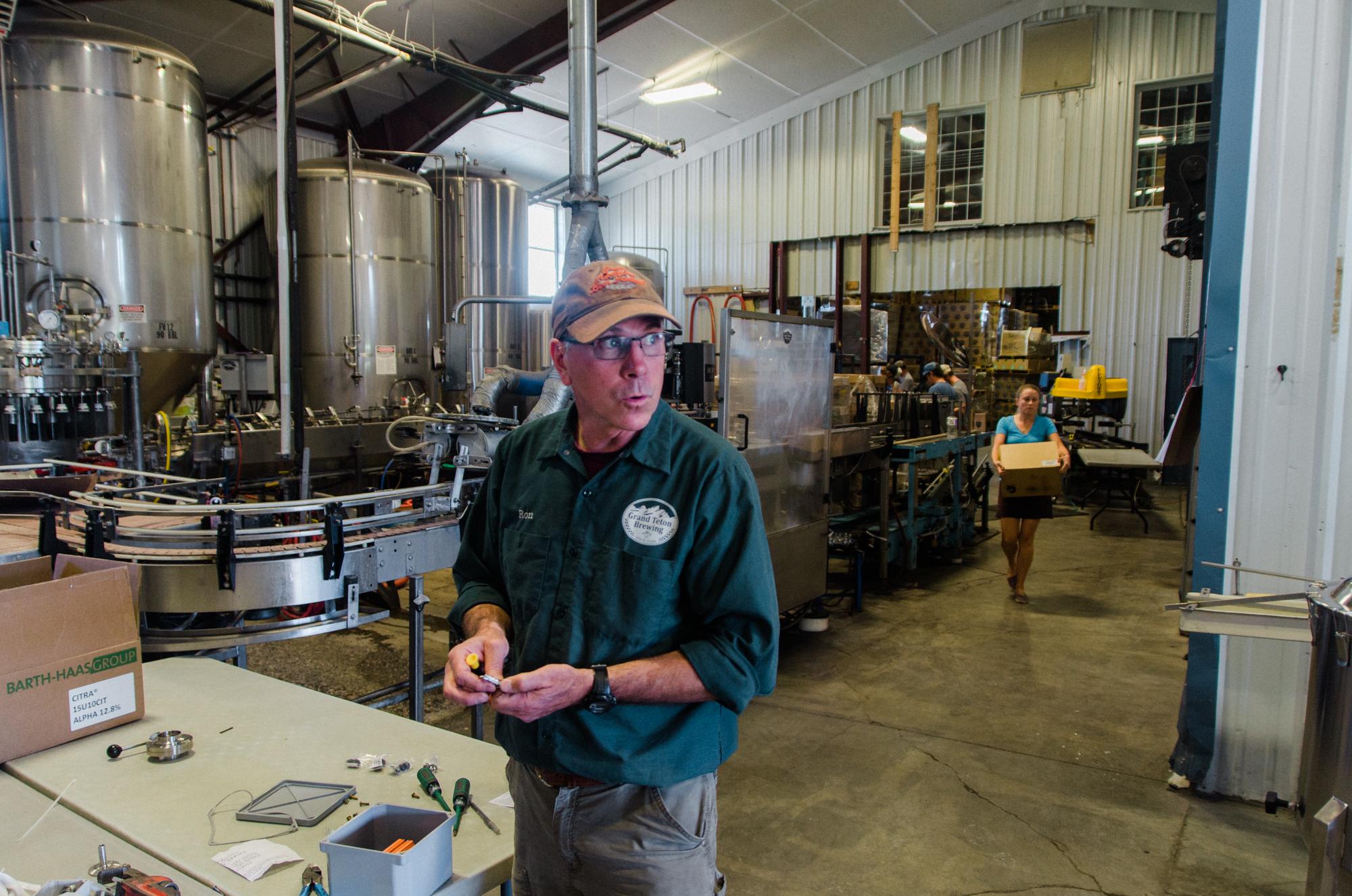 grand teton brewery vacation photo