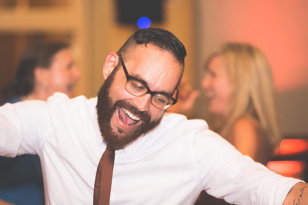 wedding reception dancing photo