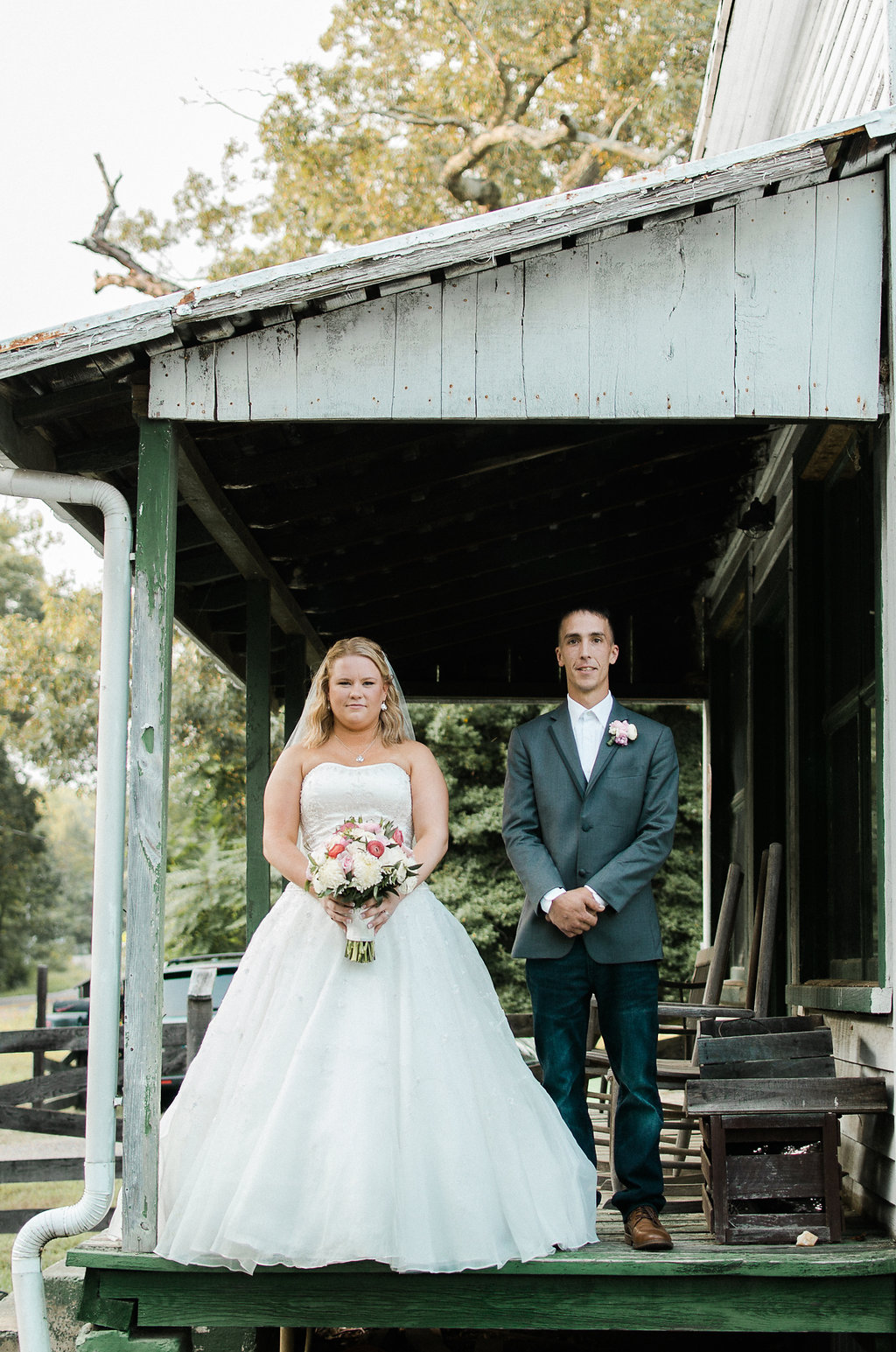 bride and groom portrait photo