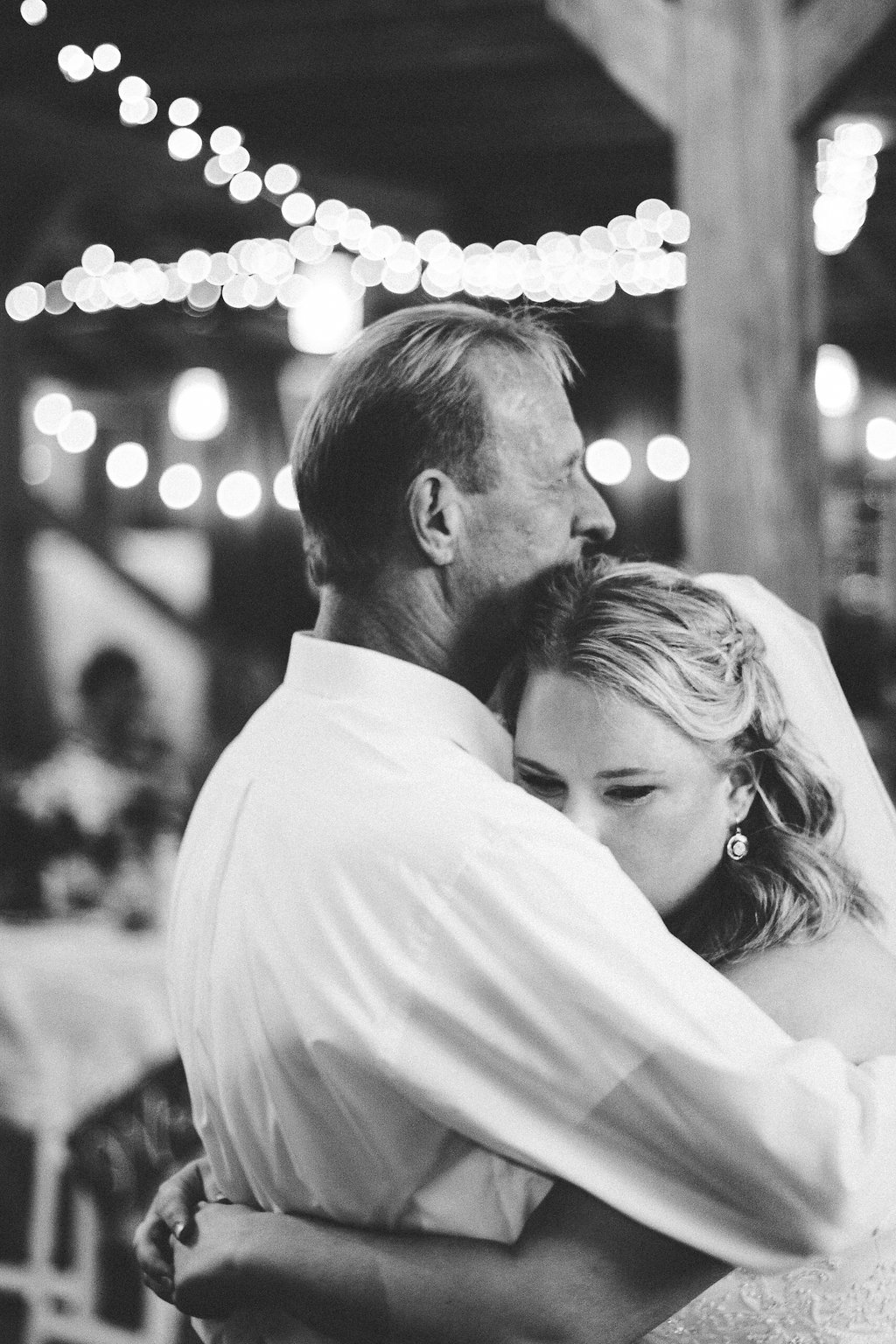 bride and father wedding dance photo