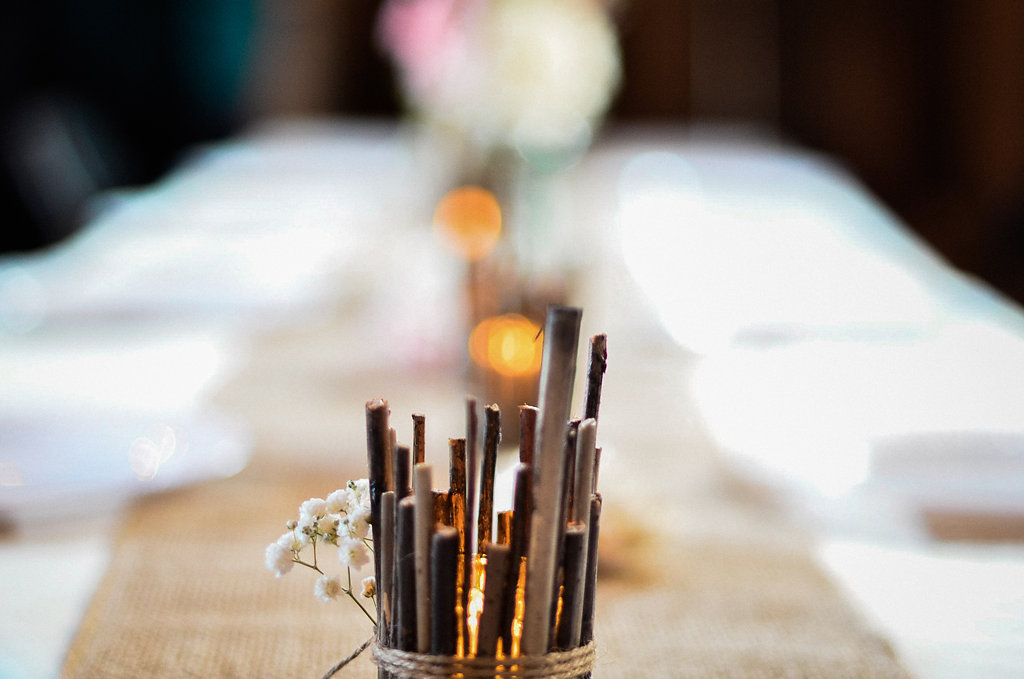 wedding reception details photo