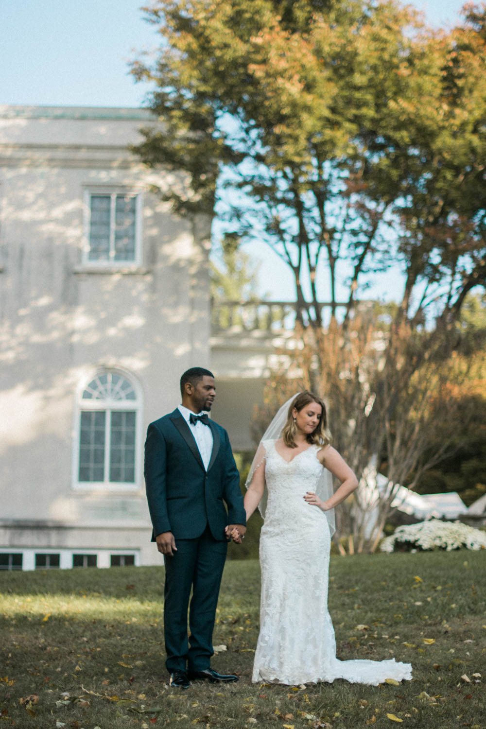 bride and groom styled shoot photo