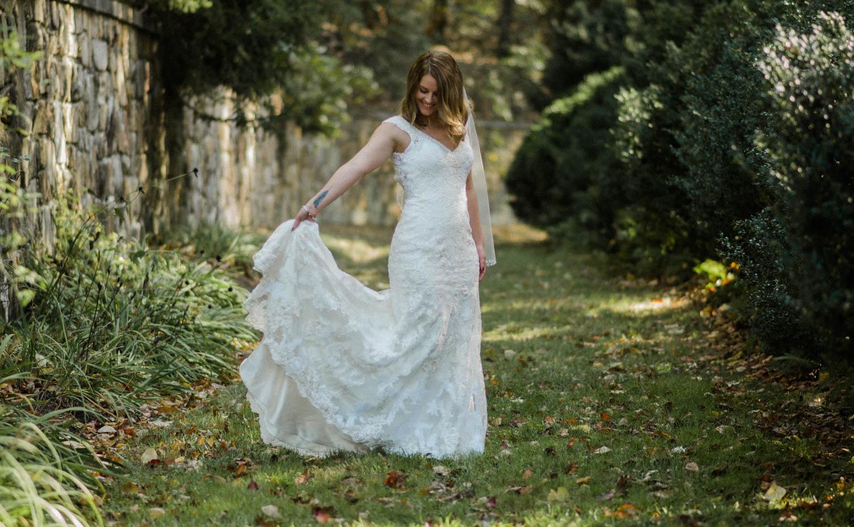 bride alice and wonderland styled shoot photo
