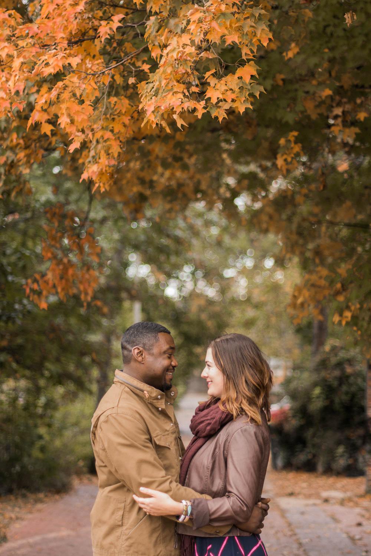 crispus attucks park engagement session park photo