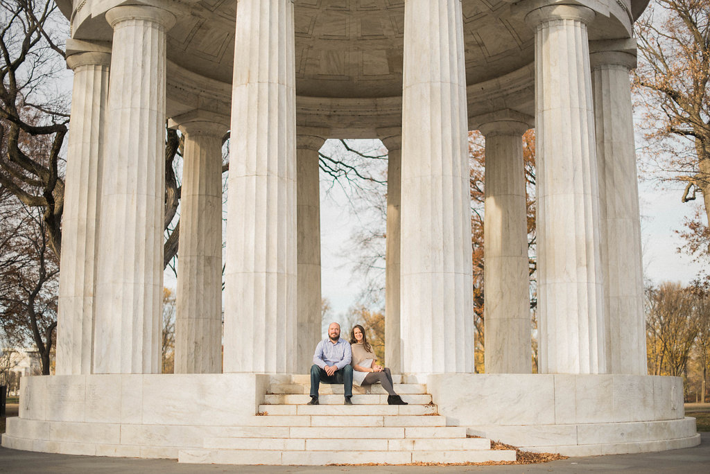 fdr memorial engagement session photo
