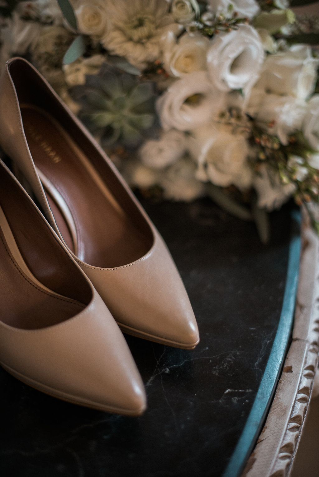 ceresville wedding bride details photo