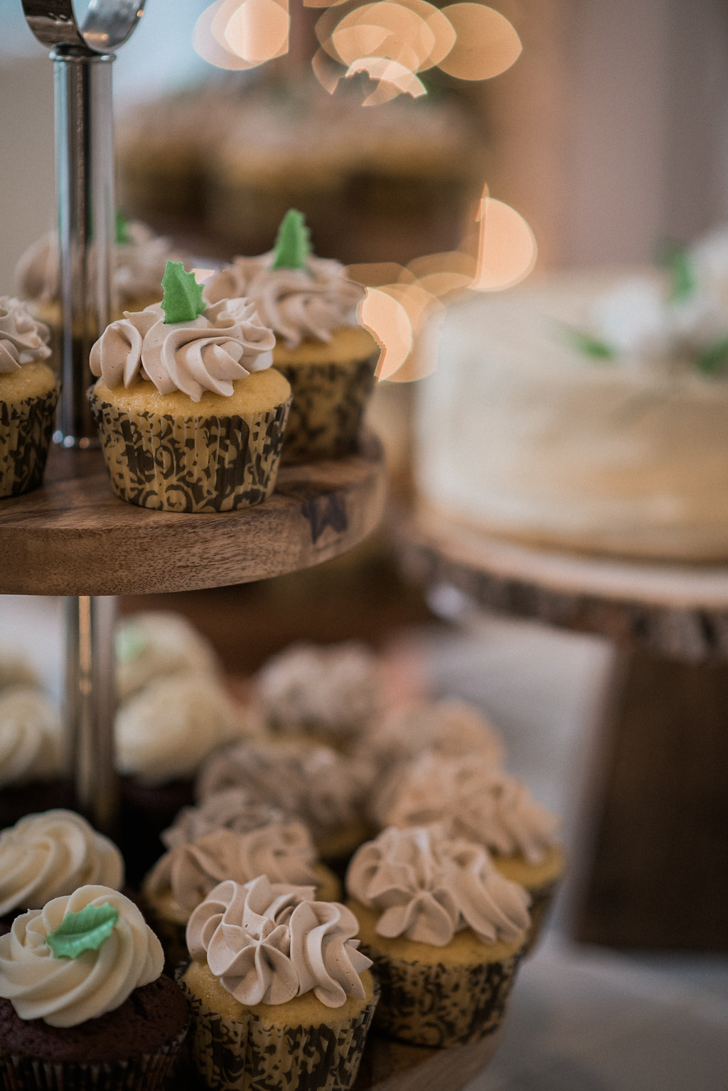 wedding cupcakes ceresville mansion photo