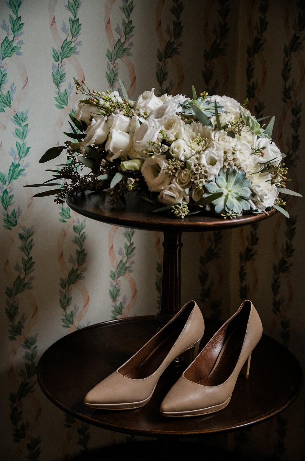bride details at ceresville mansion photo