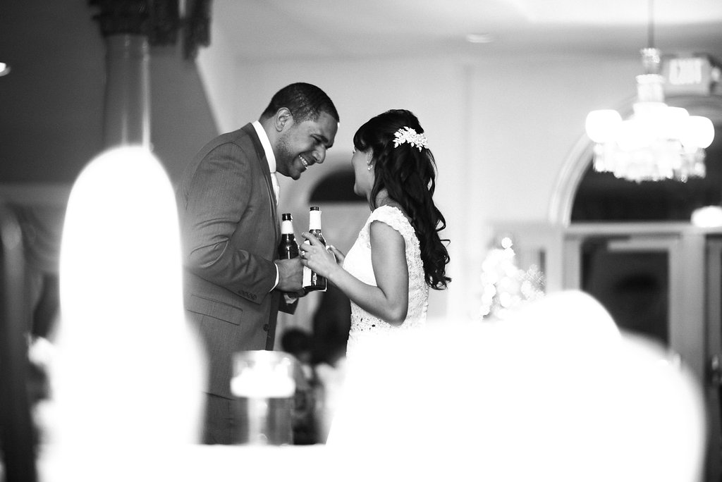 bride and groom candid moment ceresville mansion photo