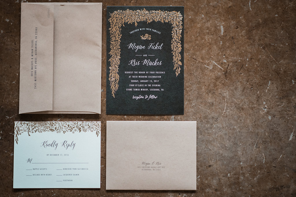 invitation suite at stone tower winery photo
