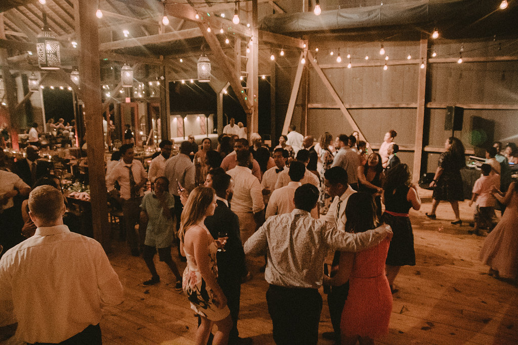 Reception at wedding