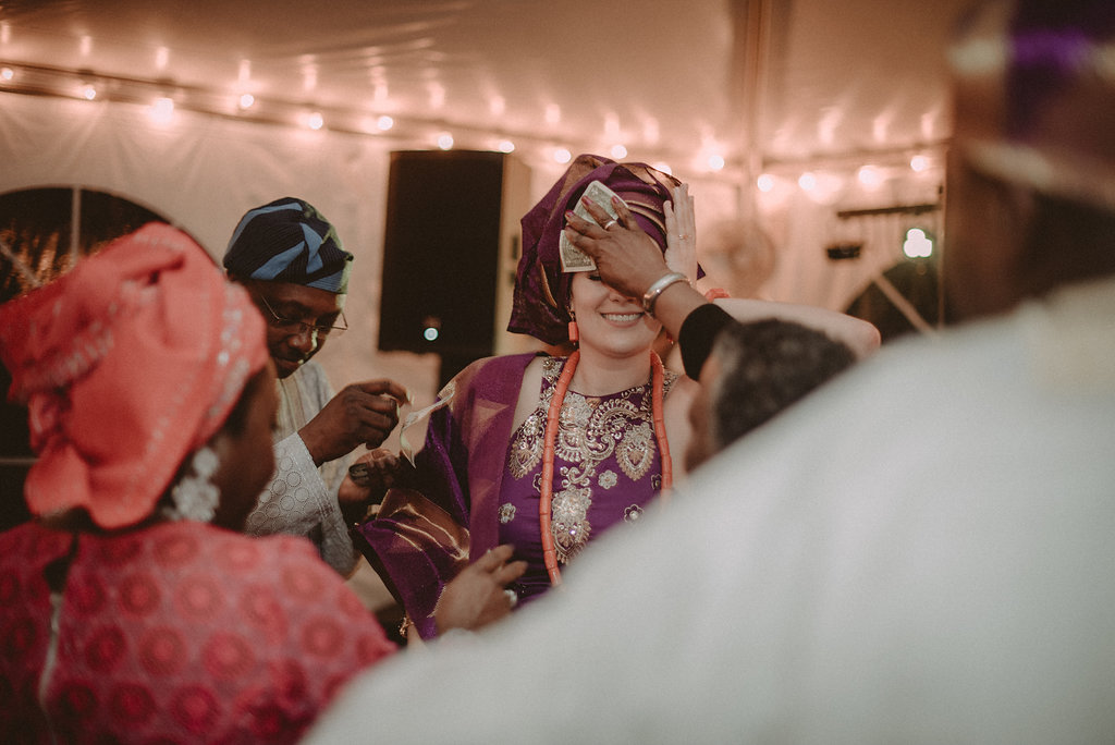 The wedding money dance