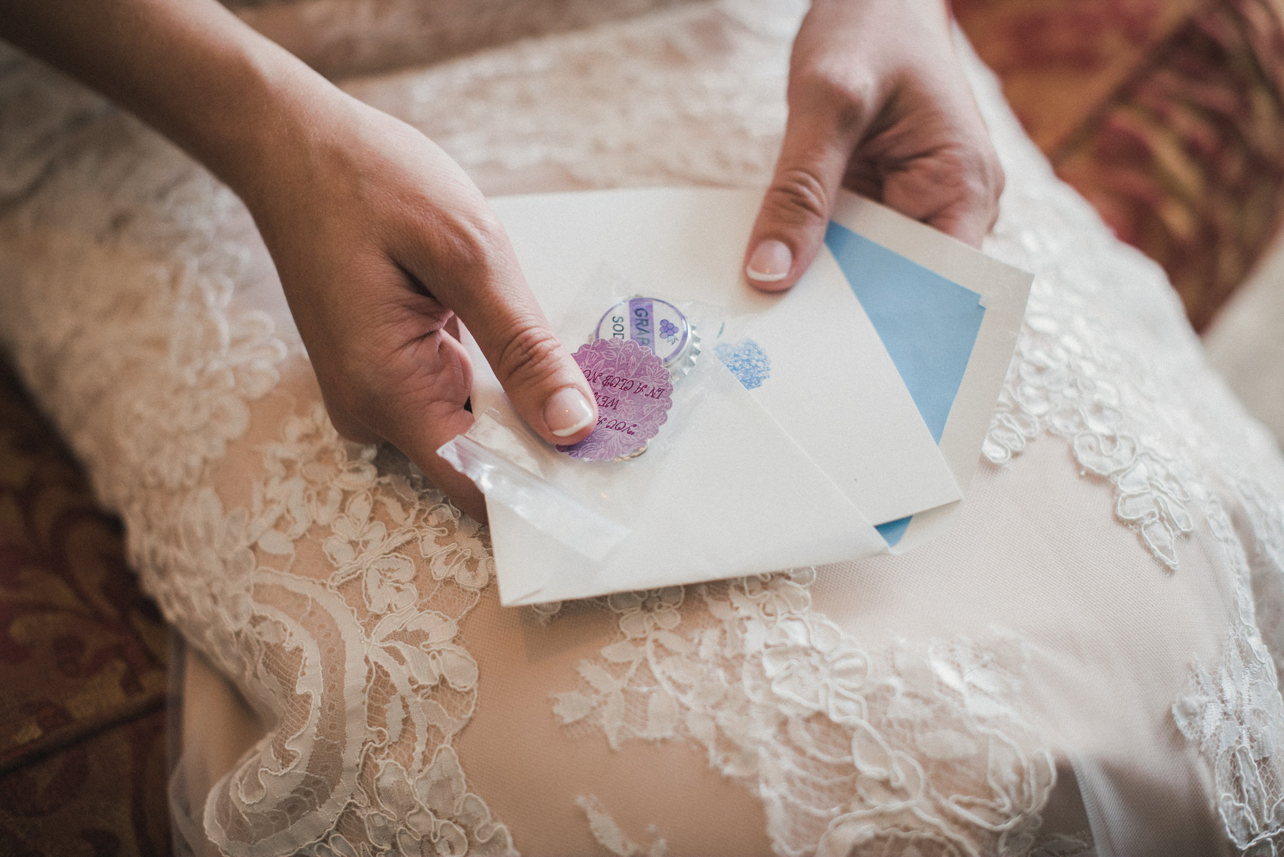 Bride's letter from groom