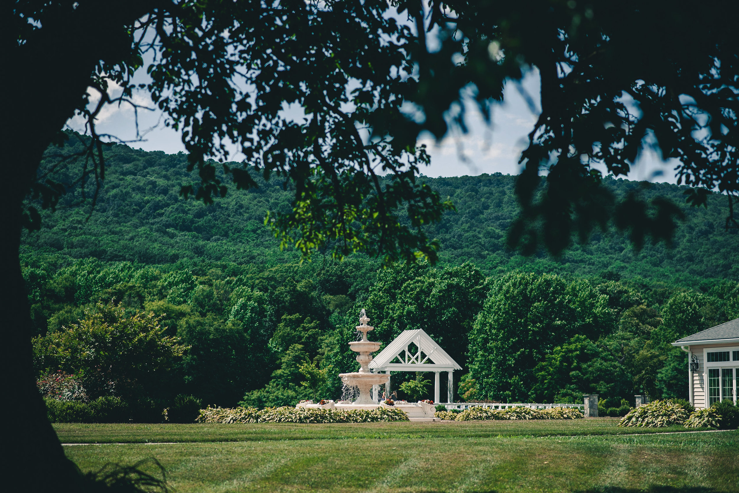 Wedding venue in the mountains
