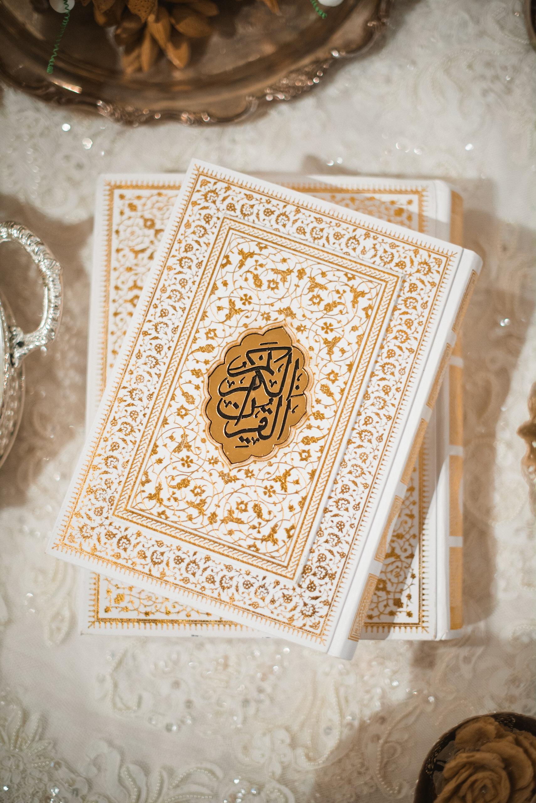 Book for wedding ceremony