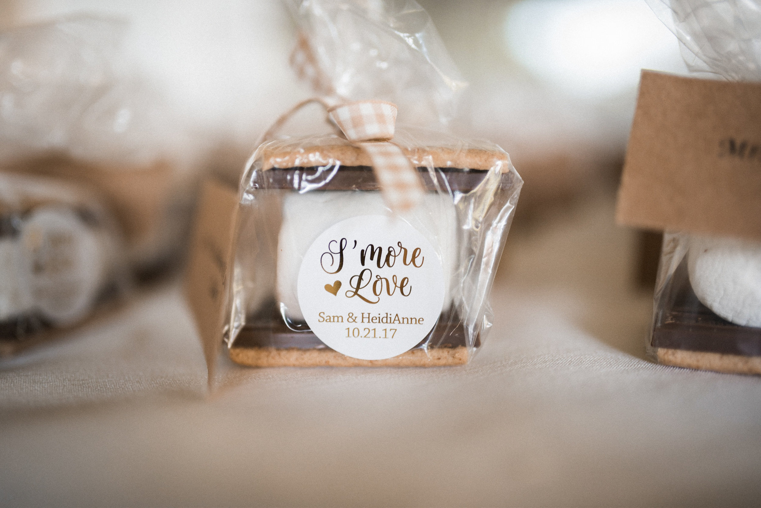 S'more Love wedding favors