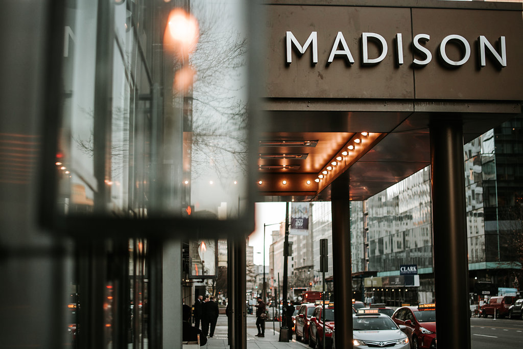 the madison hotel dc wedding photo