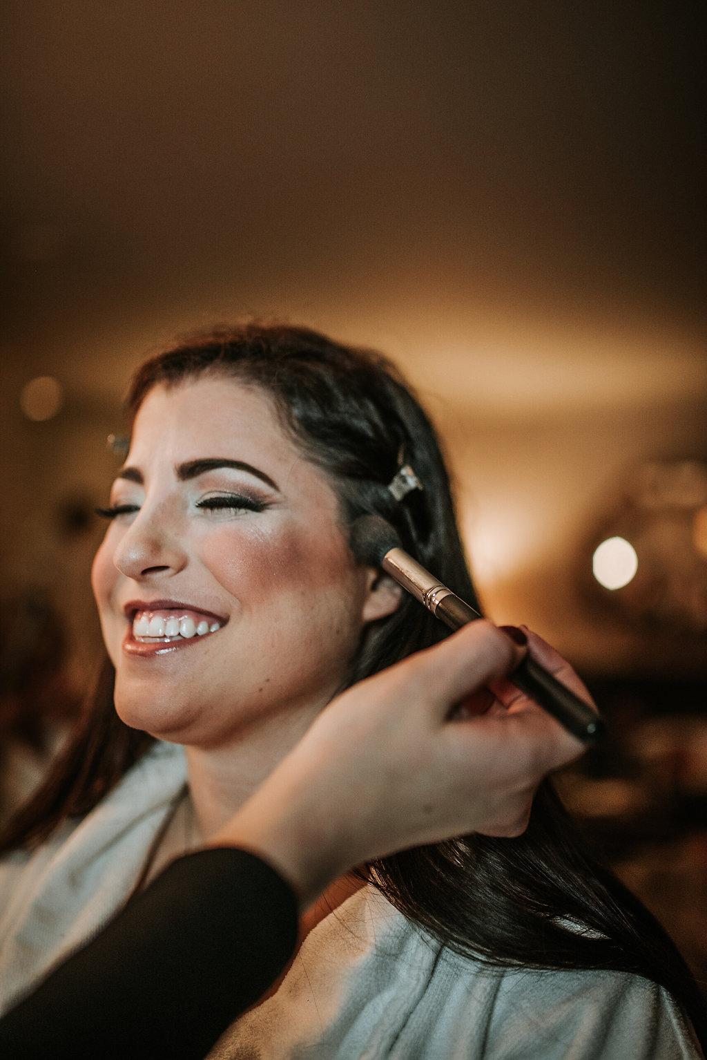 the madison dc hotel wedding bride makeup photo