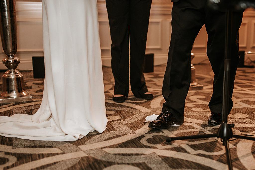 the madison dc hotel ceremony wedding photo