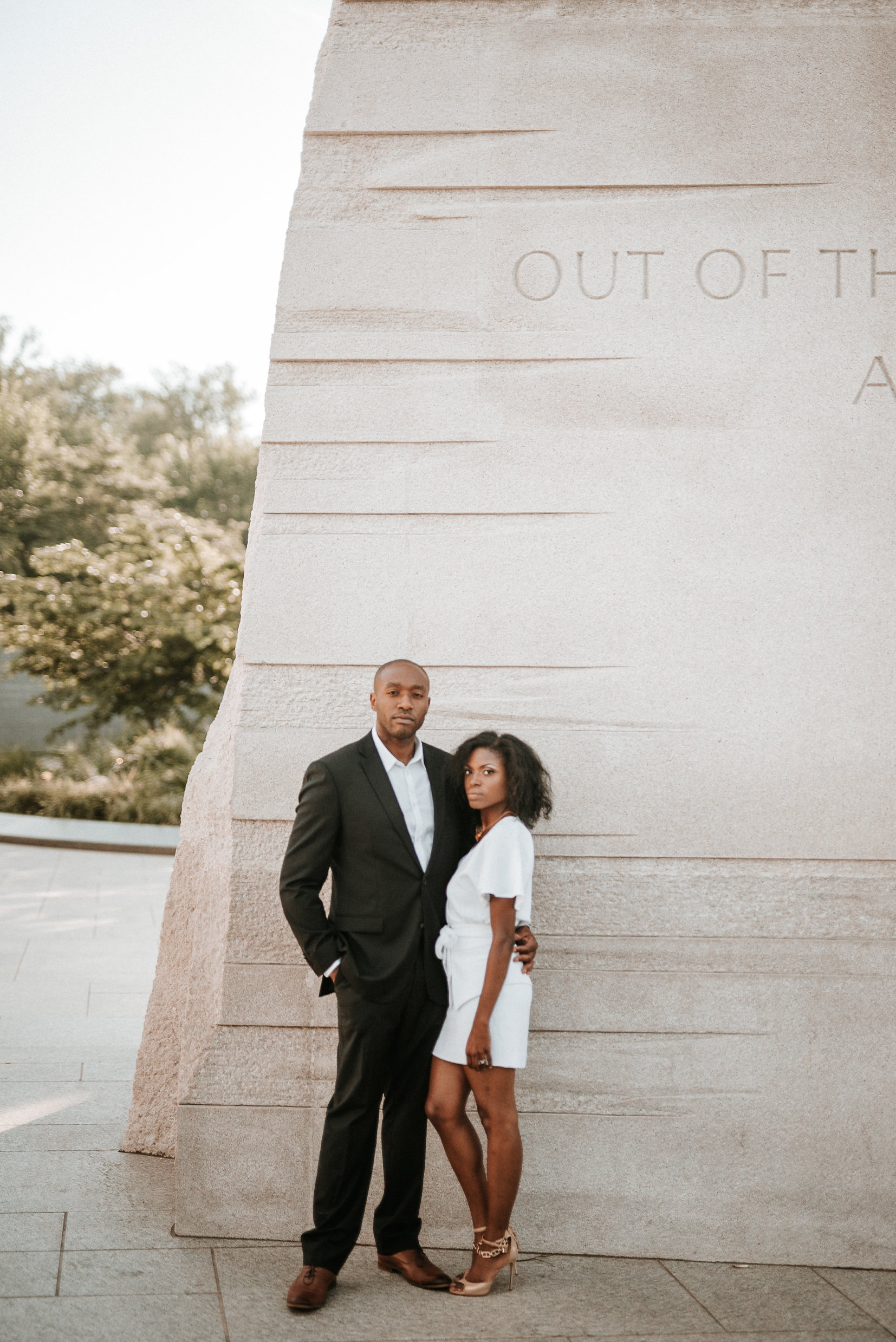 Martin Luther King Jr Memorial engagement shoot