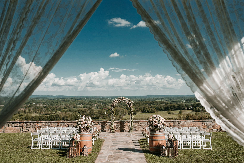 Ceremony Site at Bluemont Vineyard