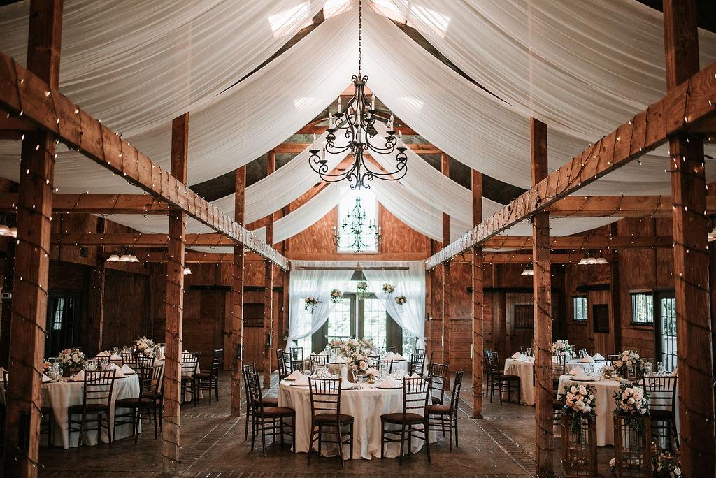 Reception Site at Bluemont Vineyard