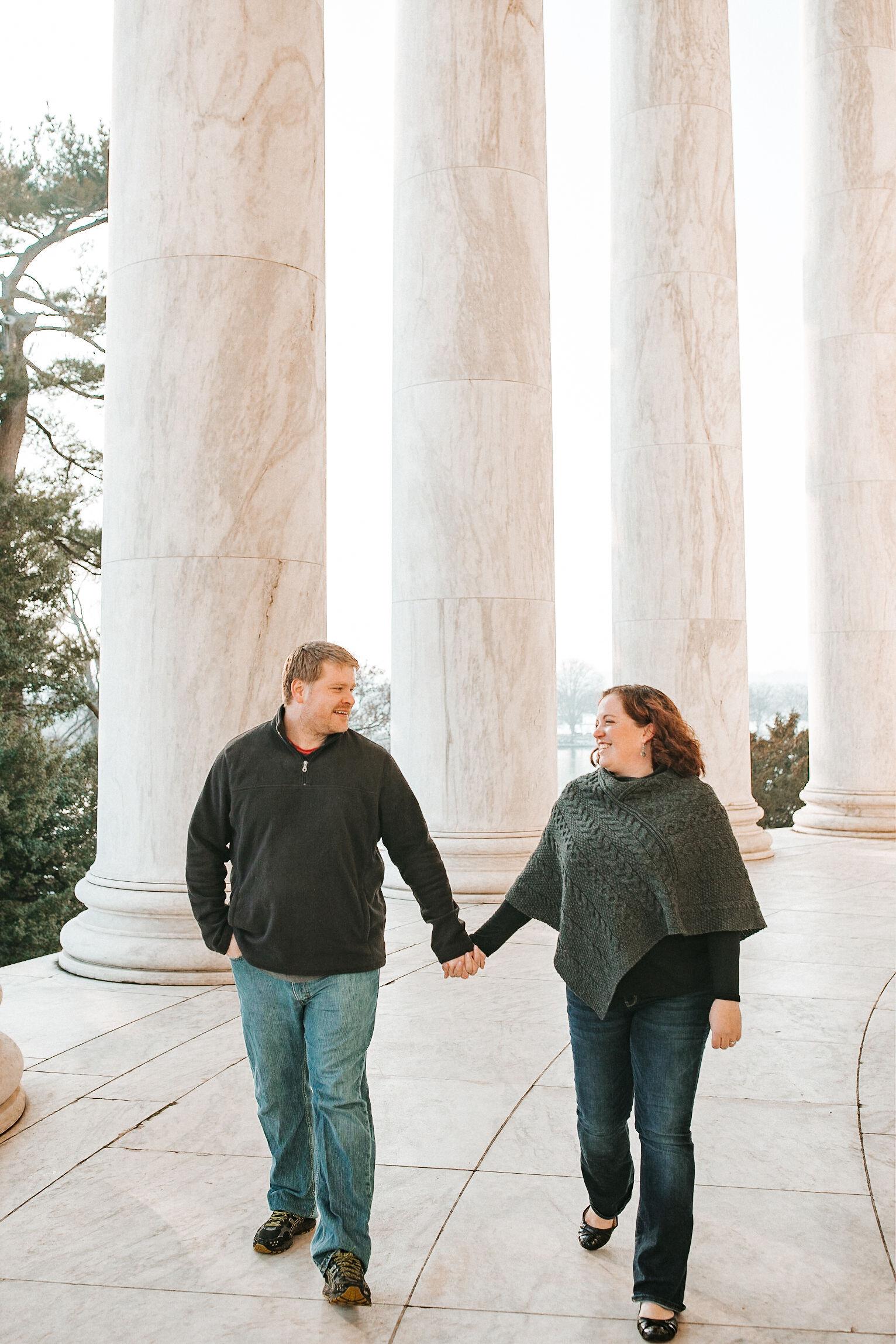 Engagement Session in Washington DC