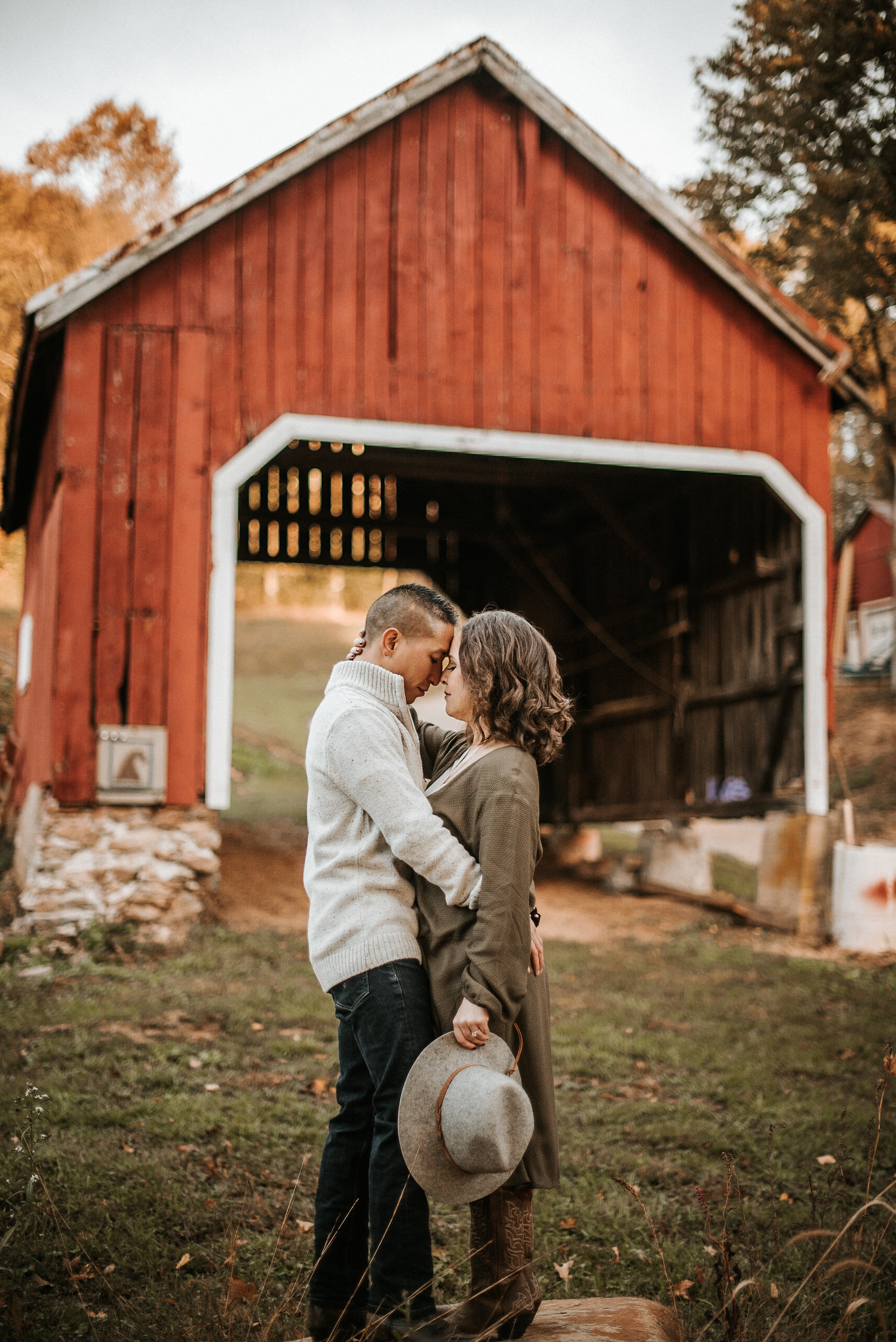 Engagement Session in New Windsor, Maryland