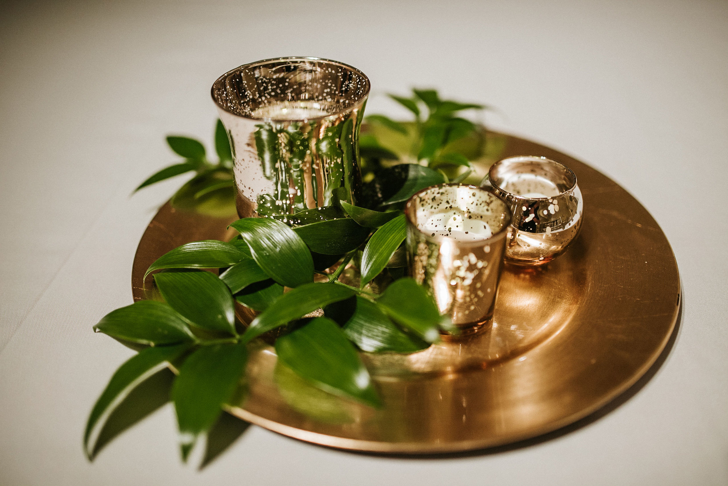 detail shot of table setting at the josephine butler parks center