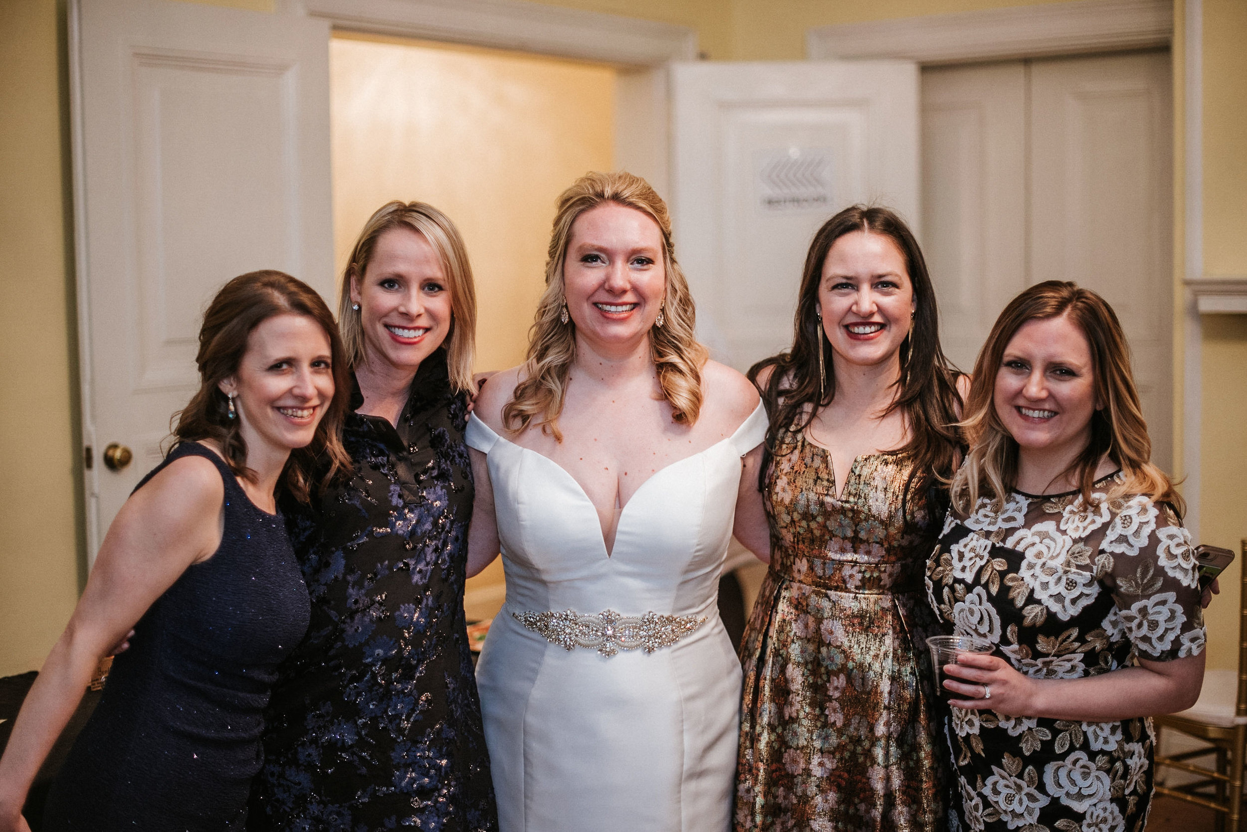 bride and her guests at the josephine butler parks center