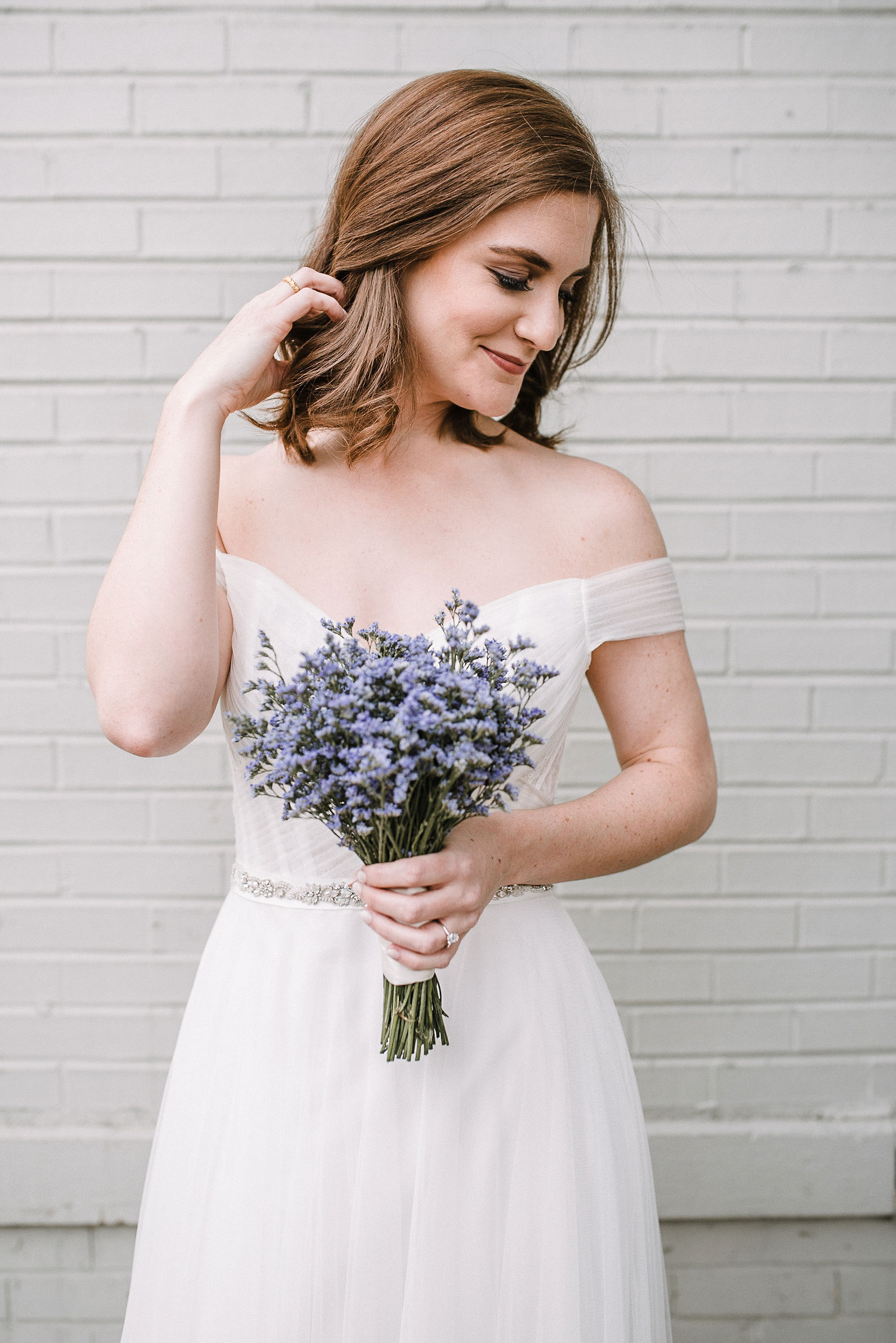 bridal portrait at City Winery in Washington DC