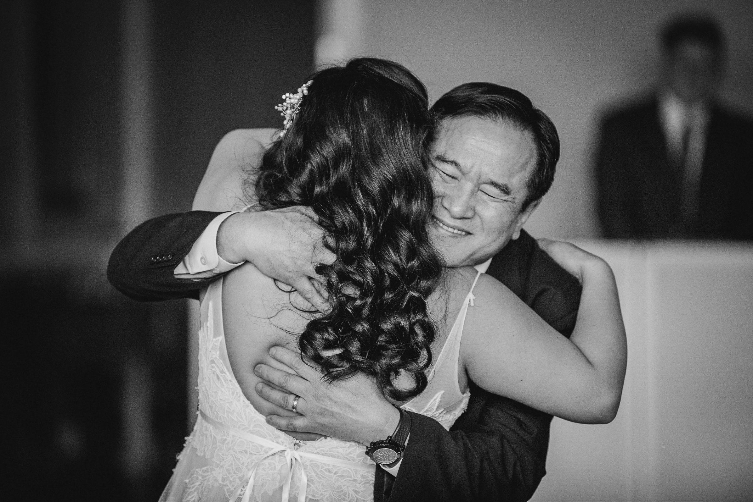 bride dancing with her father at Westfields Golf Club
