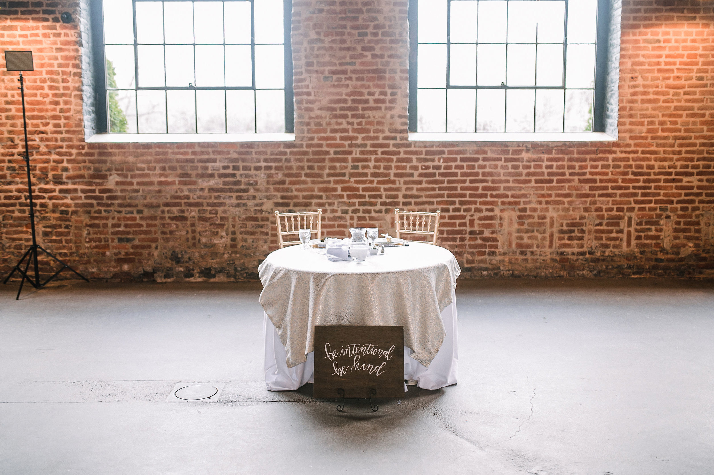 reception detail shots at the Inn at the Old Silk Mill