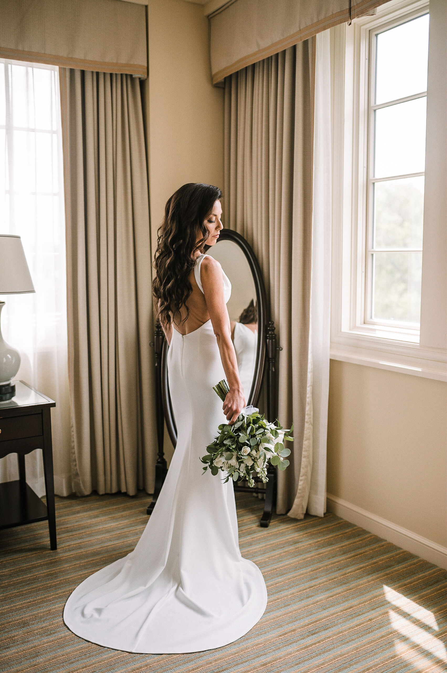 Bridal Portrait at The Salamander Resort
