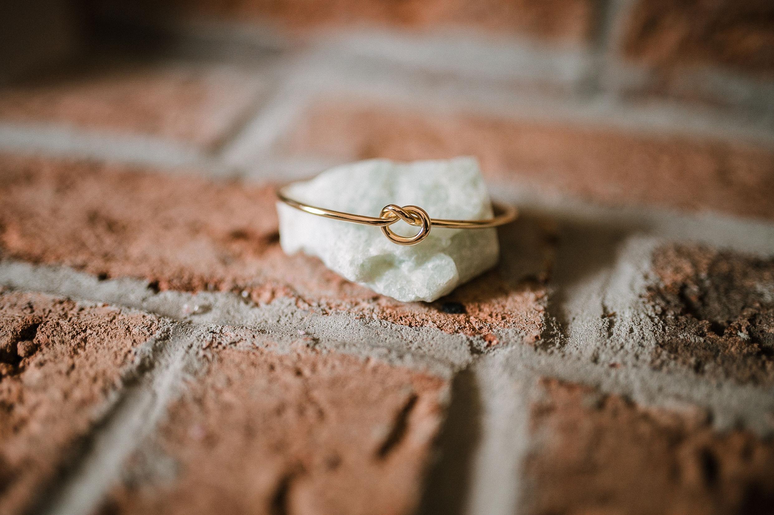 detail shot of bride's bracelet at MAVFC Reception Hall