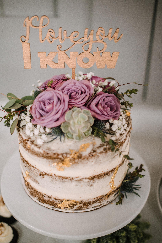 detail shot of wedding cake at MAVFC Reception Hall