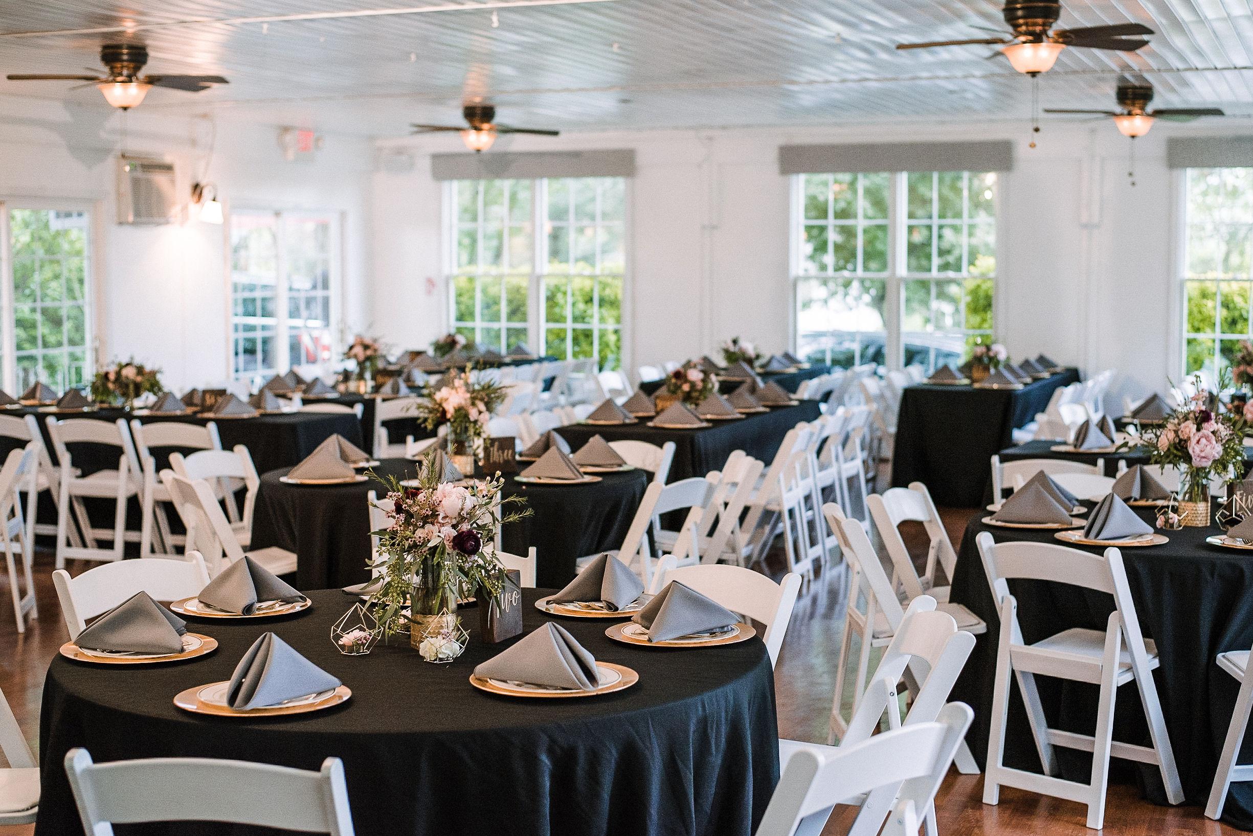 reception site at Seasons at Magnolia Manor