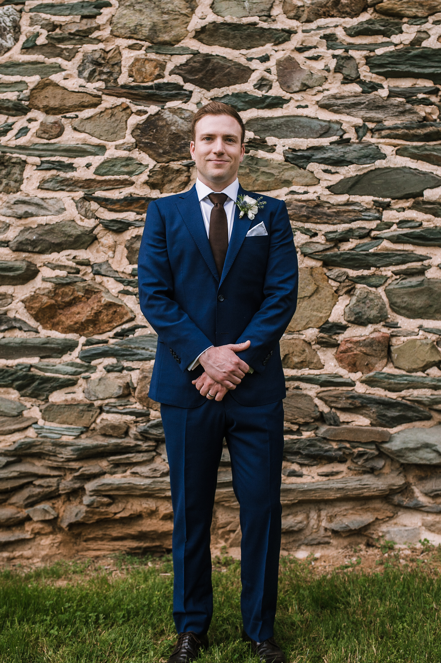 groom portrait at tranquility farm