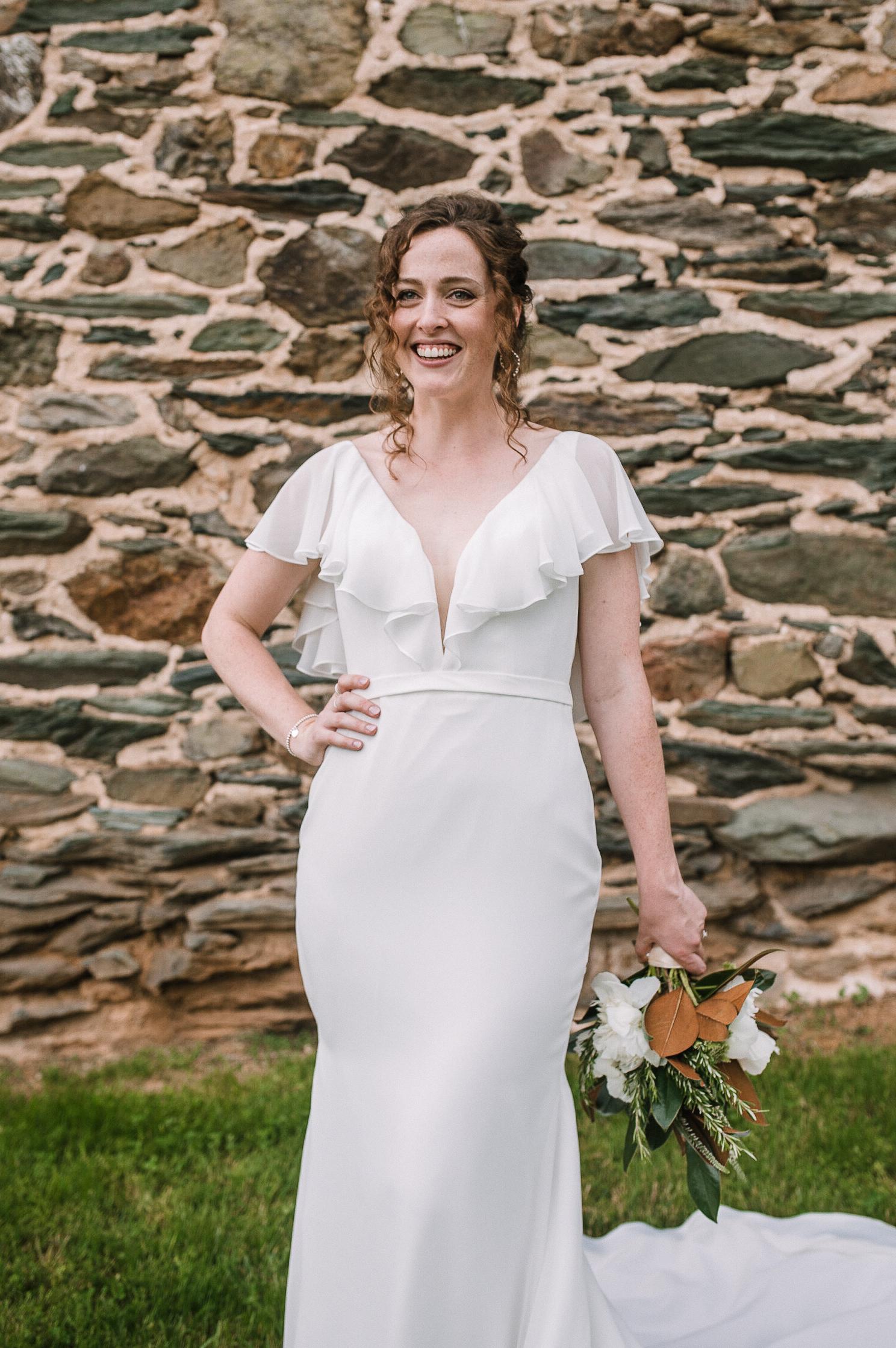 bridal portrait at tranquility farm