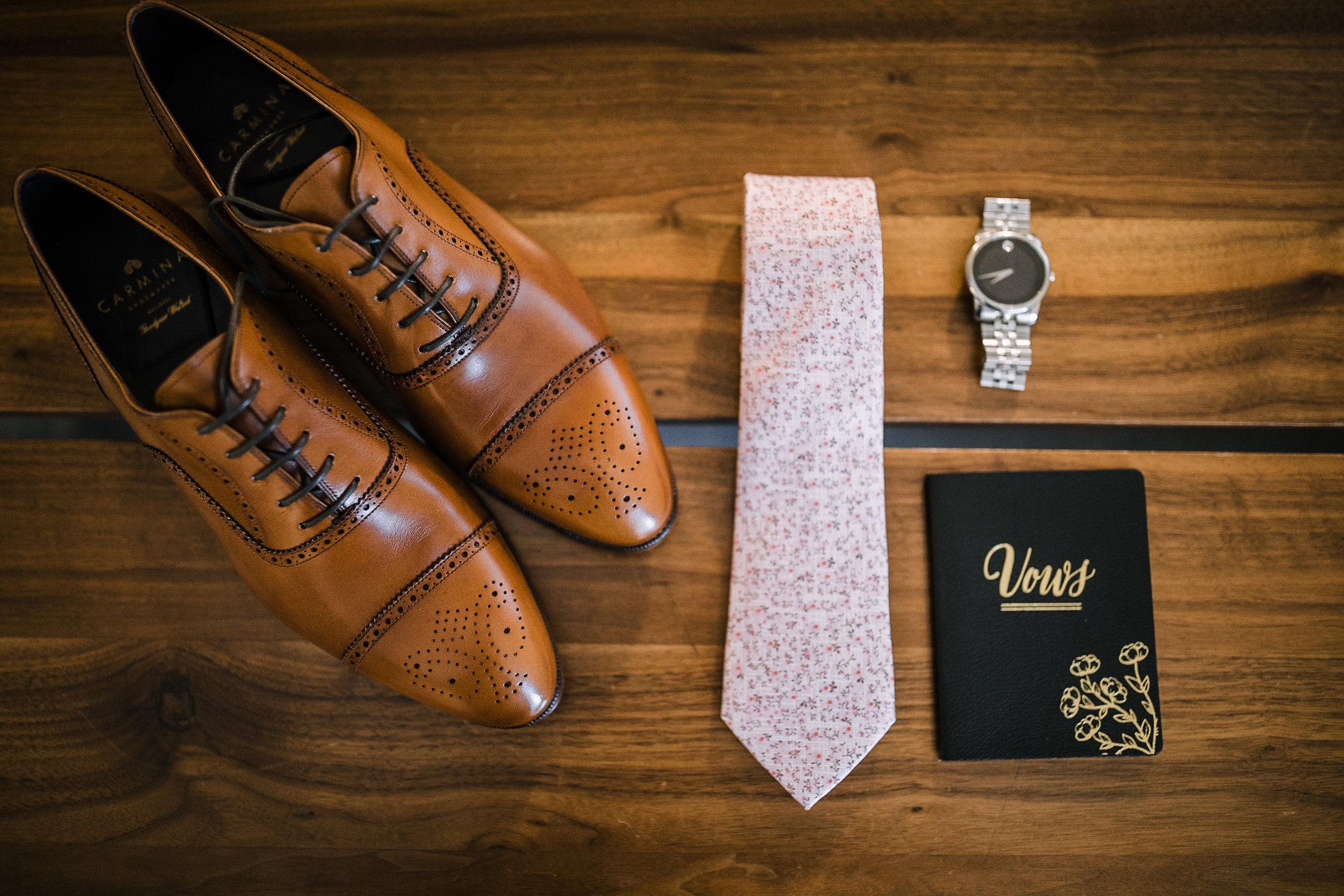 groom details at The Park Hyatt Hotel in Washington DC