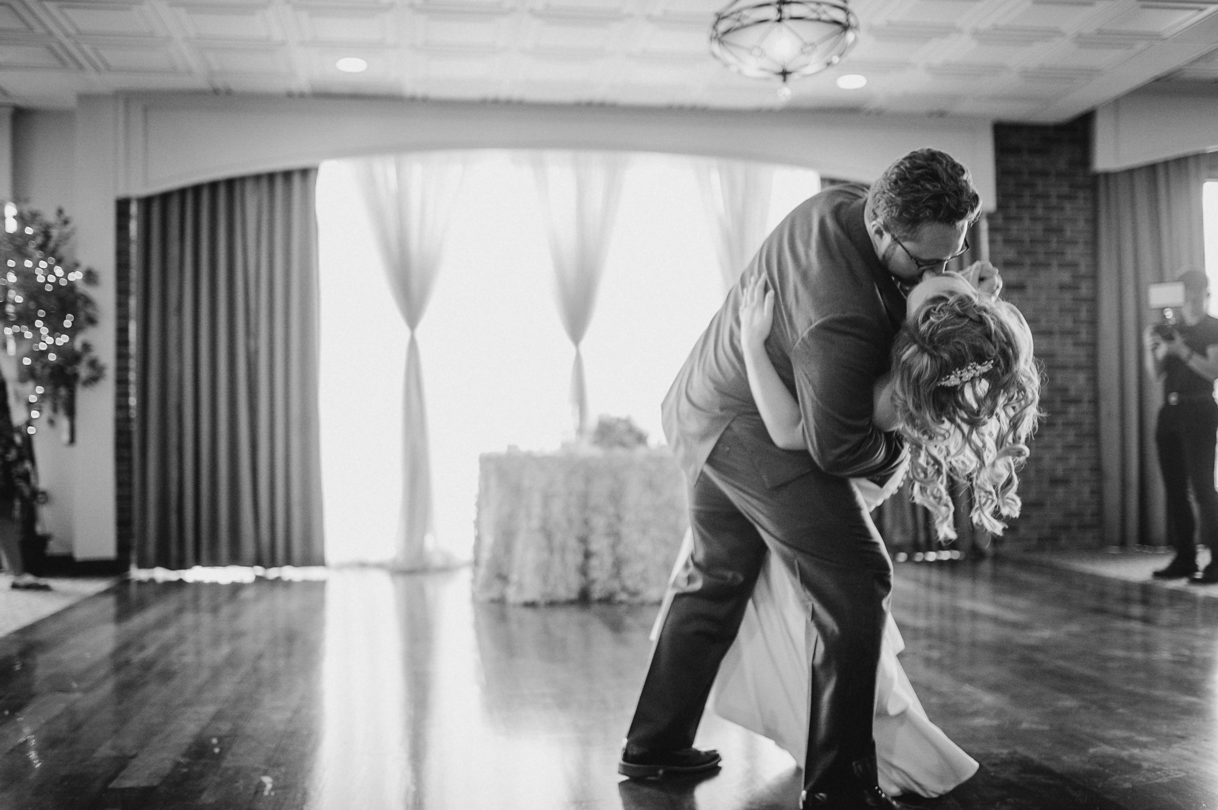 bride and groom first dance at Harbour View