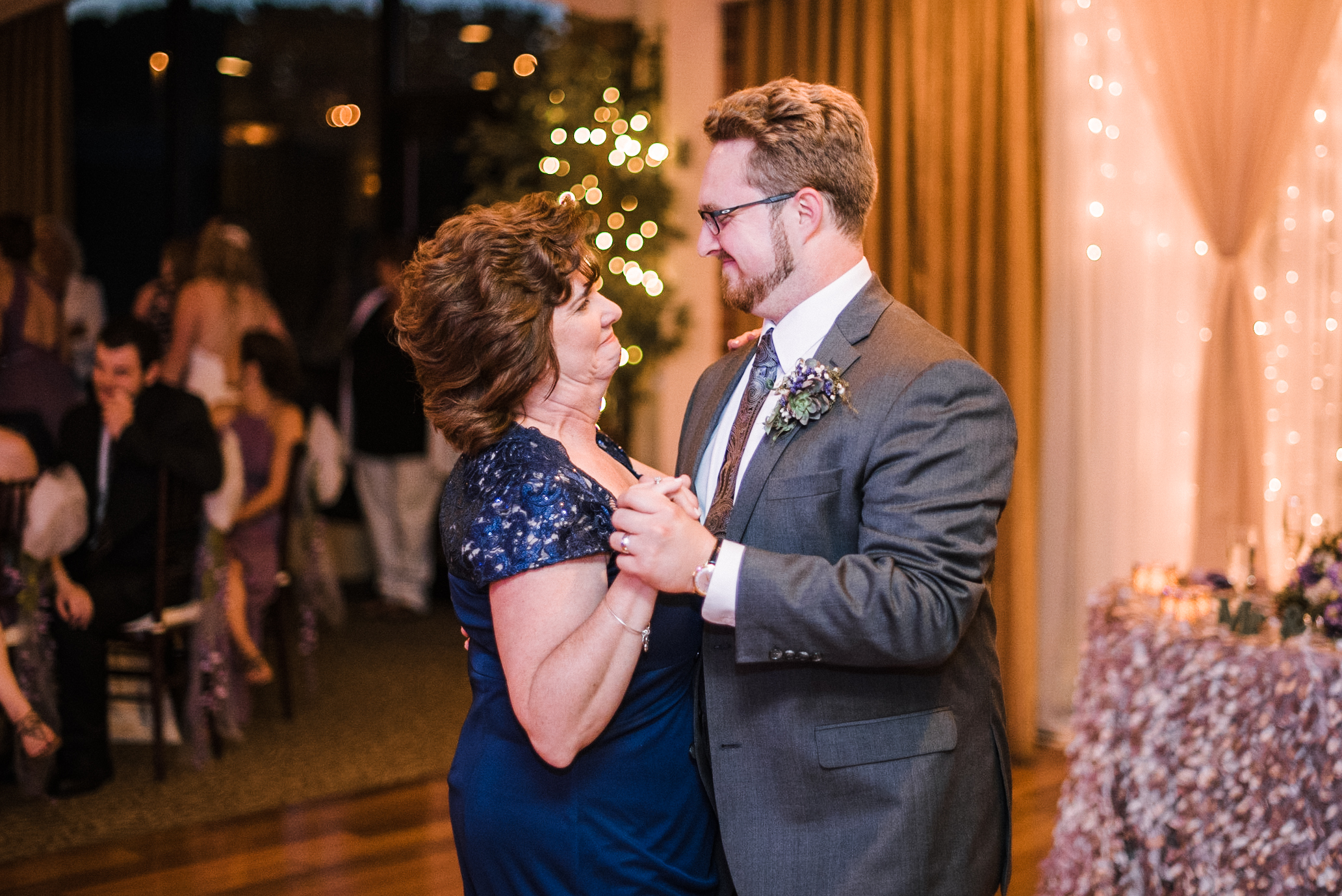 groom and his mom dancing at Harbour View