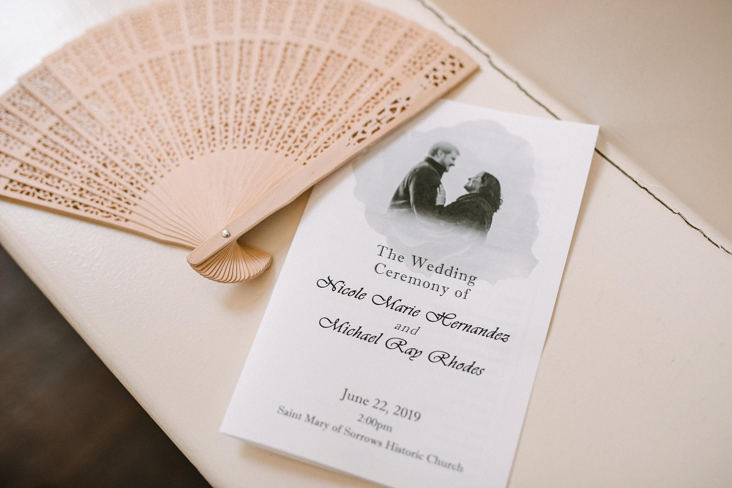 ceremony details at Westfields Golf Club